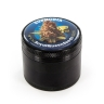 RQS Metal Grinder Plant Black With Strain Logo